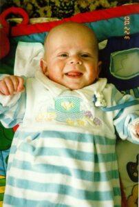 Noah always smiling!